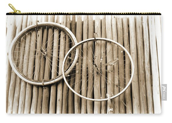 Wheels On Bamboo Carry-all Pouch