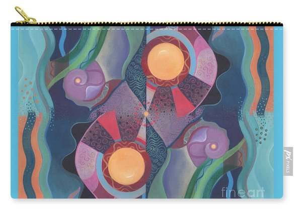 When Deep And Flow Met Carry-all Pouch