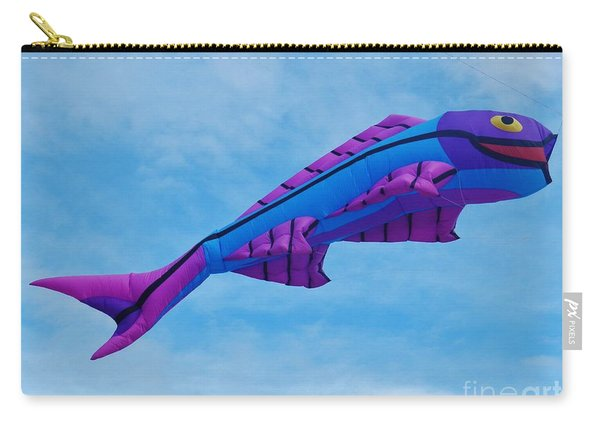 When Fish Fly Carry-all Pouch