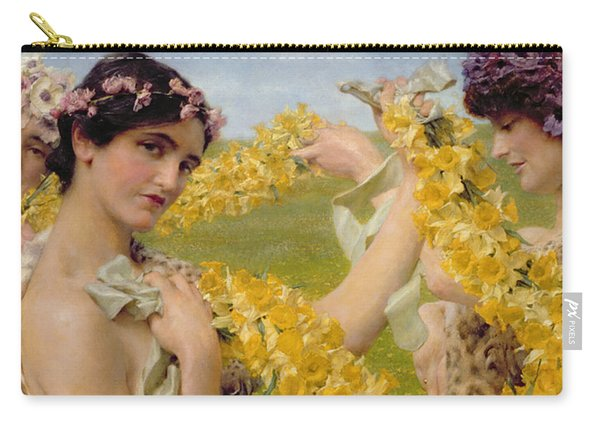 When Flowers Return Carry-all Pouch