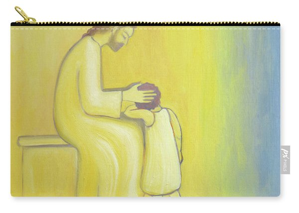 When We Repent Of Our Sins Jesus Christ Looks On Us With Tenderness Carry-all Pouch