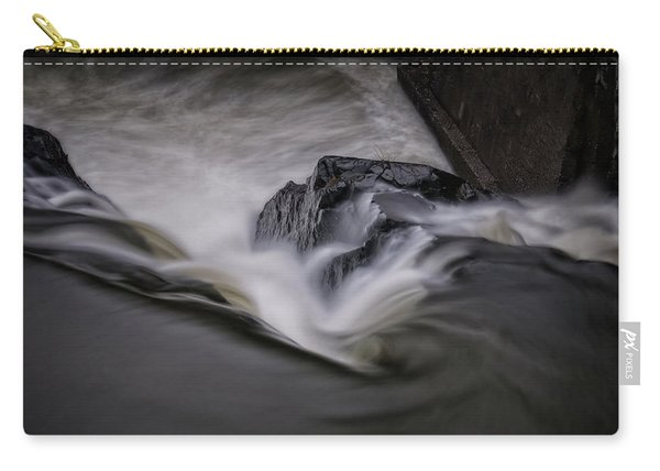 Carry-all Pouch featuring the photograph Whetstone Canyon by Tom Singleton