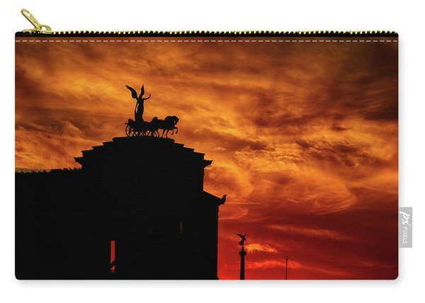 While Rome Burns Carry-all Pouch