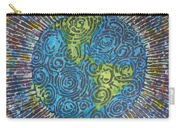 Whirled Piece Carry-all Pouch