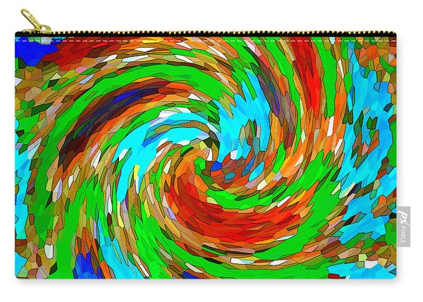 Whirlwind - Abstract Art Carry-all Pouch