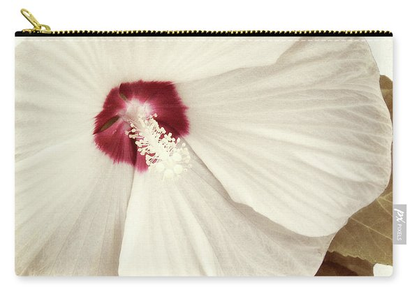 Whispering Hibiscus Carry-all Pouch