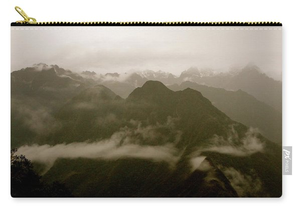 Whispers In The Andes Mountains Carry-all Pouch
