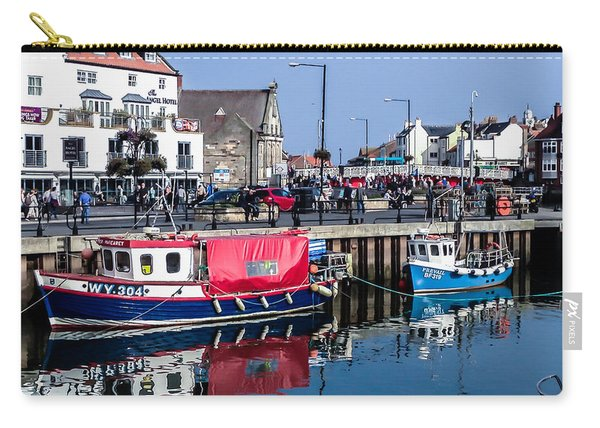 Whitby Harbor, United Kingdom Carry-all Pouch