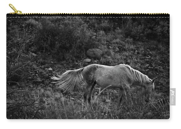 Carry-all Pouch featuring the photograph White 47 by Catherine Sobredo