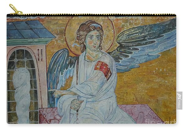 White Angel Carry-all Pouch