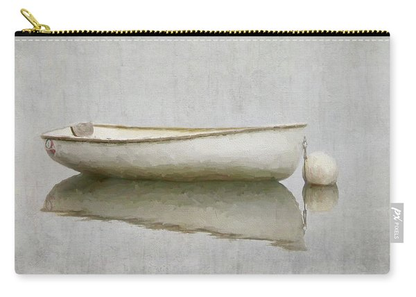 White Boat Carry-all Pouch