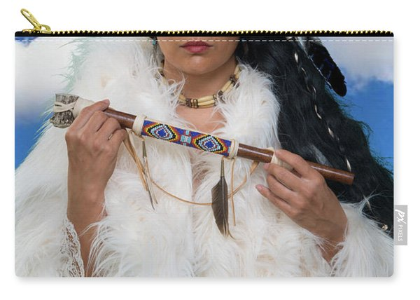 White Buffalo Calf Woman Carry-all Pouch