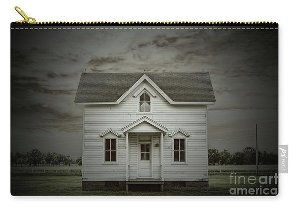 White Clapboard Carry-all Pouch
