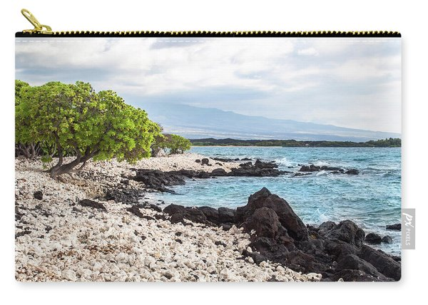 White Coral Coast Carry-all Pouch