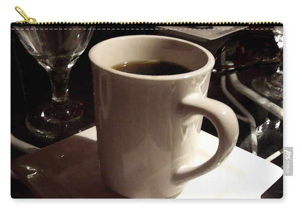 White Cup Carry-all Pouch