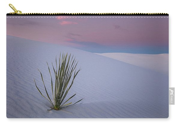 White Dunes Carry-all Pouch