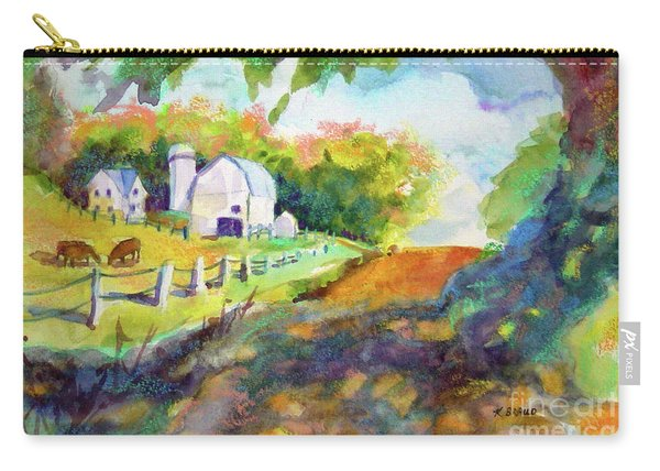 White Farmyard 2004 Carry-all Pouch