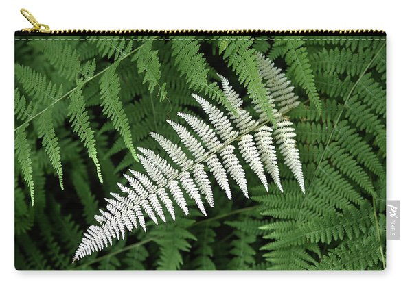 White Fern Carry-all Pouch