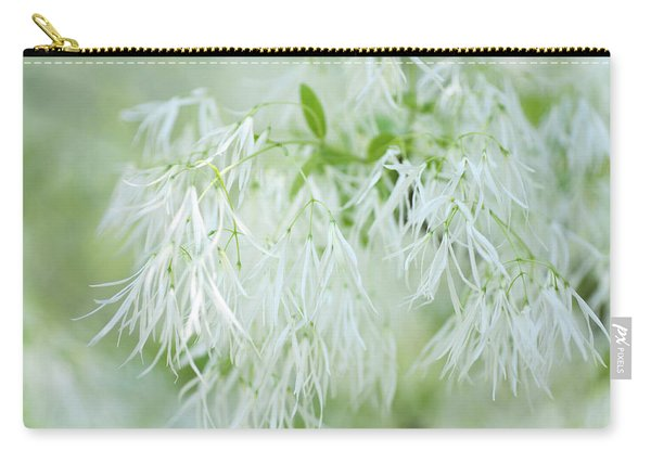 White Fringetree Carry-all Pouch