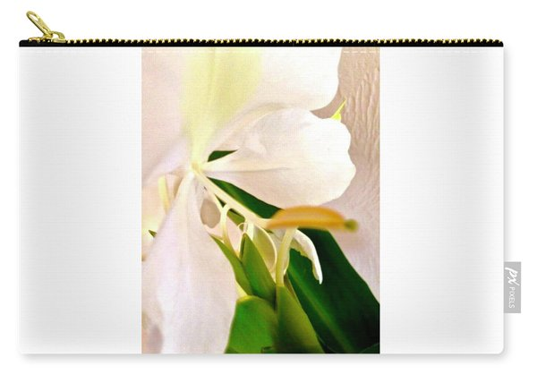 White Ginger Close Up Abstract Carry-all Pouch
