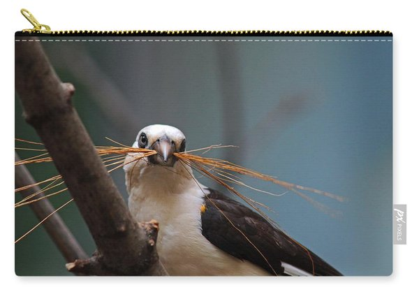 White-headed Buffalo Weaver Carry-all Pouch