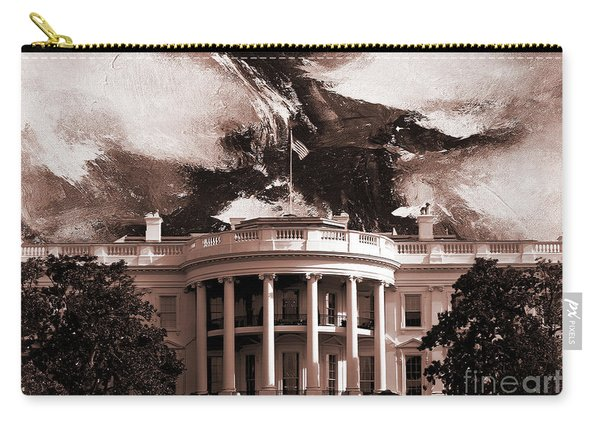 White House Washington Dc Carry-all Pouch