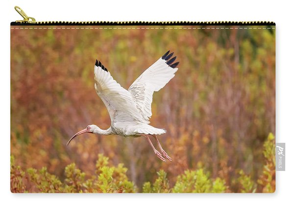 White Ibis In Hilton Head Island Carry-all Pouch