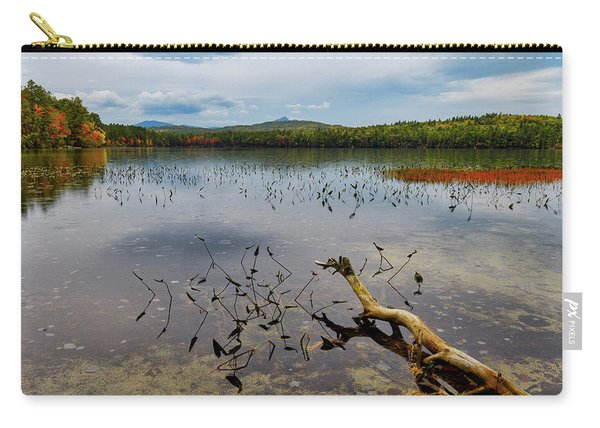 White Lake Autumn View Nh Carry-all Pouch