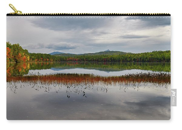 White Lake Fall Chocorua Nh Carry-all Pouch
