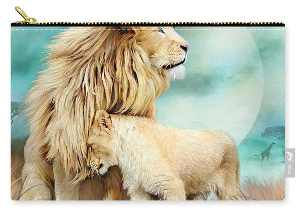 White Lion Family - Protection Carry-all Pouch