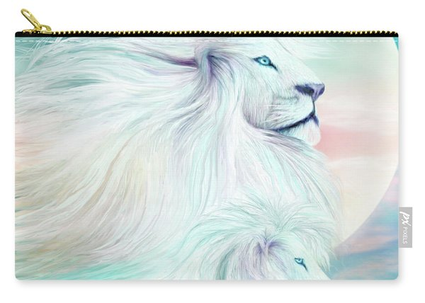White Lion - Spirit King Carry-all Pouch