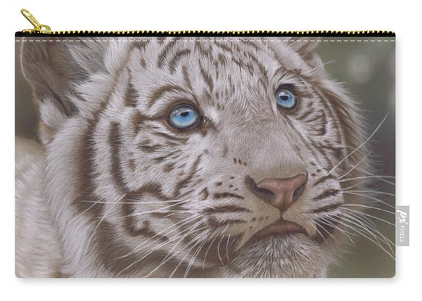 White Mischief Carry-all Pouch