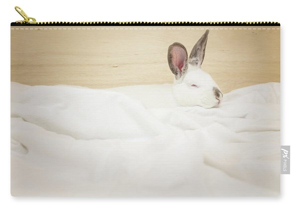 Sleeping Rabbit  Carry-all Pouch