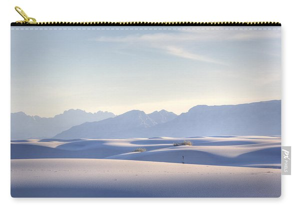 White Sands Blue Sky Carry-all Pouch