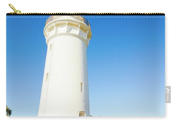White Seaside Tower Carry-all Pouch