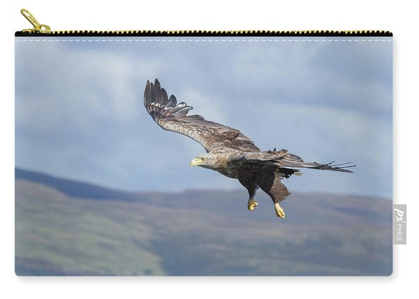 White-tailed Eagle On Mull Carry-all Pouch