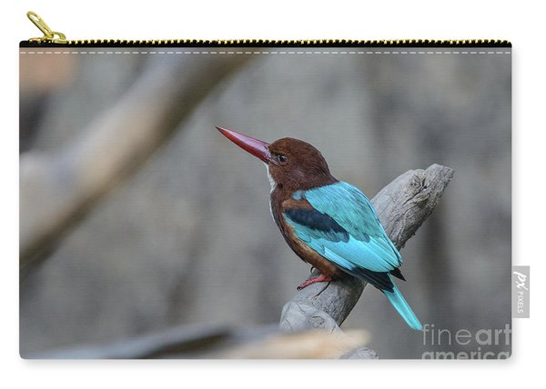 White-throated Kingfisher 02 Carry-all Pouch