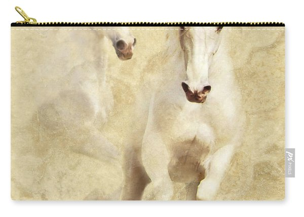 White Thunder Carry-all Pouch