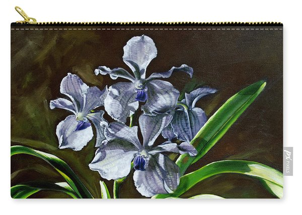 Morning Vanda Carry-all Pouch