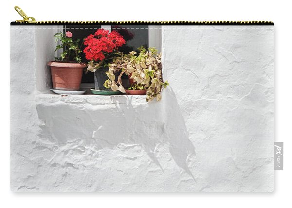 White Window Carry-all Pouch