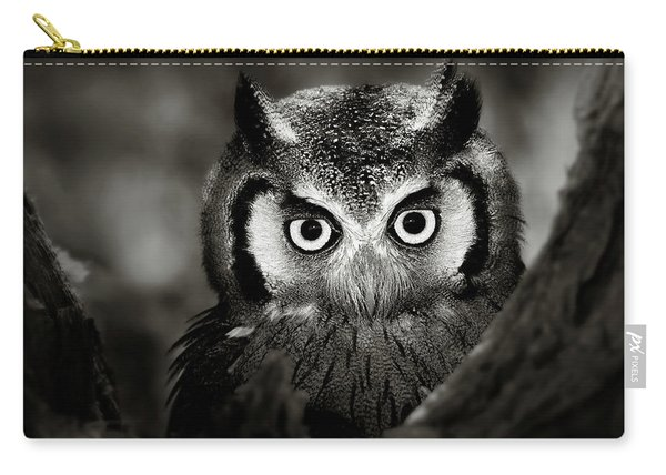 Whitefaced Owl Carry-all Pouch