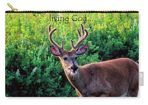 Whitetail Deer Panting Carry-all Pouch