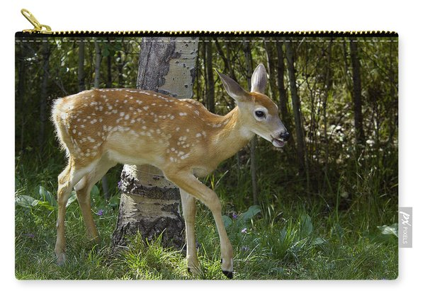 Whitetail Fawn Carry-all Pouch