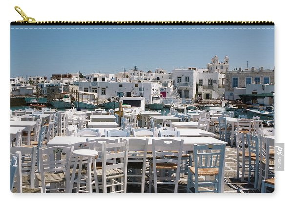 Whitewashed Naoussa Carry-all Pouch