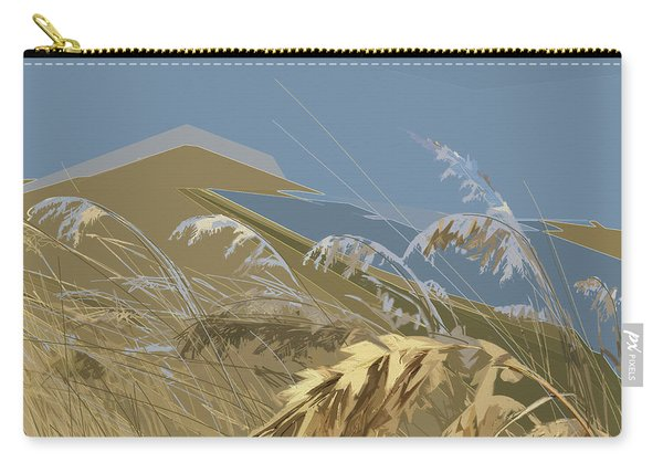 Carry-all Pouch featuring the digital art Who Has Seen The Wind? by Gina Harrison