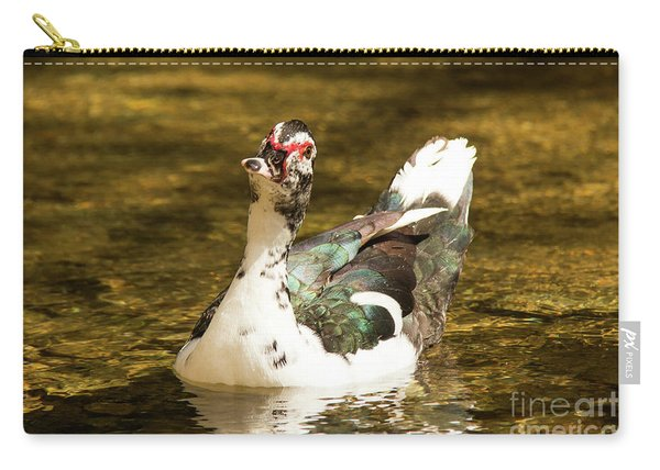 Who Me Wildlife Art By Kaylyn Franks Carry-all Pouch