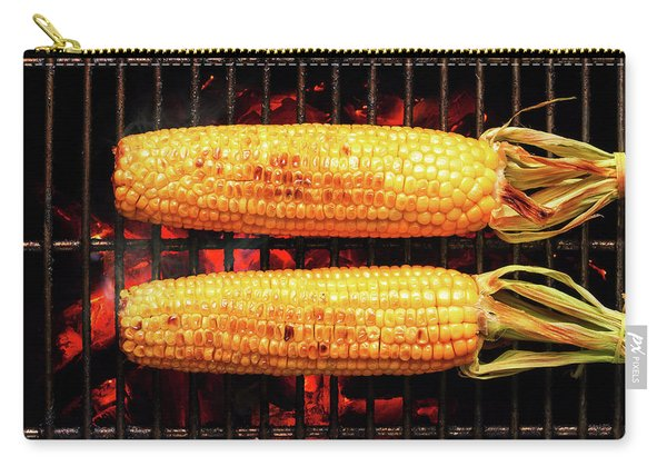 Whole Corn On Grill Carry-all Pouch