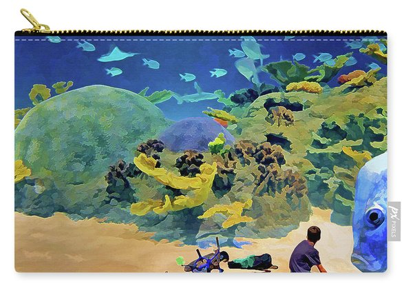 Who's Fishing? Carry-all Pouch