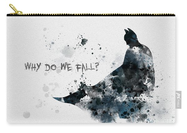 Why Do We Fall? Carry-all Pouch