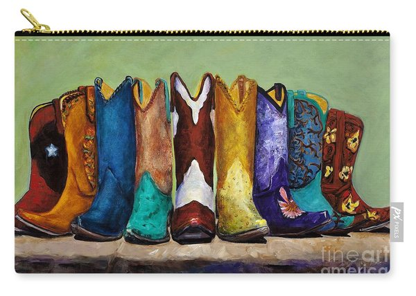 Why Real Men Want To Be Cowboys Carry-all Pouch